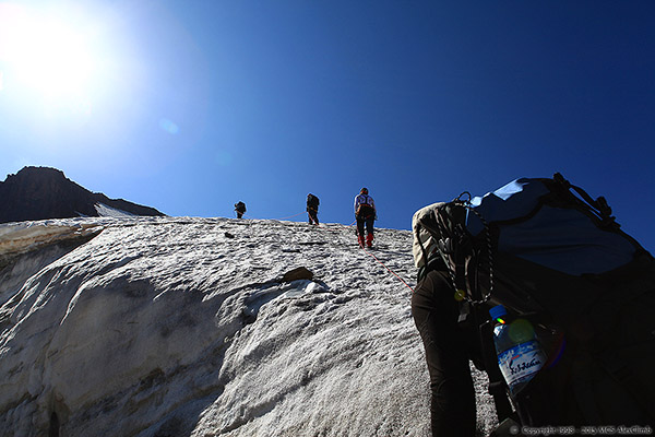 a description of mountain climbing and its basic fundamentals 6 day baker mountaineering steep quien sabe glacier and provides an aesthetic climbing line that's accessible with basic alpine ascents international takes.